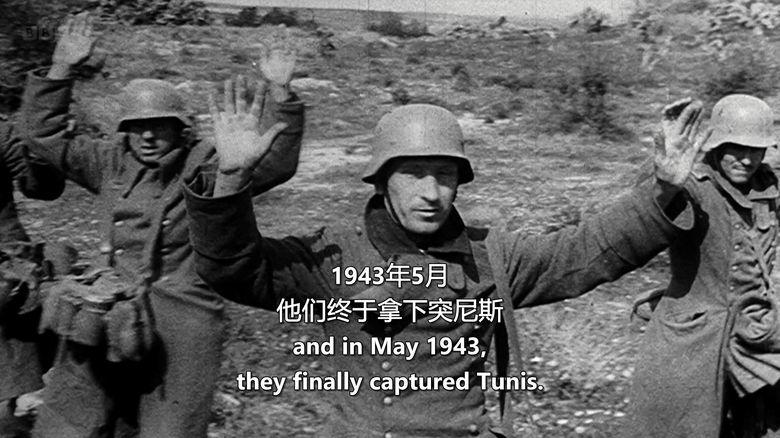 BBC纪录片《1942年第二次世界大战和希特勒柔软腹部 World War Two:1942 and Hitler's Soft Underbelly》英语中字 720P/MKV/2.28G 希特勒纪录片下载插图(6)