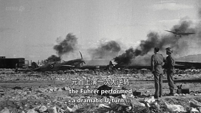 BBC纪录片《1942年第二次世界大战和希特勒柔软腹部 World War Two:1942 and Hitler's Soft Underbelly》英语中字 720P/MKV/2.28G 希特勒纪录片下载插图(5)