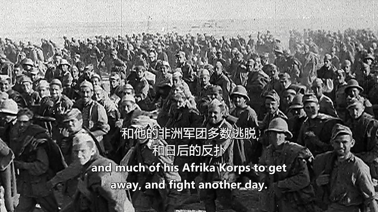 BBC纪录片《1942年第二次世界大战和希特勒柔软腹部 World War Two:1942 and Hitler's Soft Underbelly》英语中字 720P/MKV/2.28G 希特勒纪录片下载插图(3)