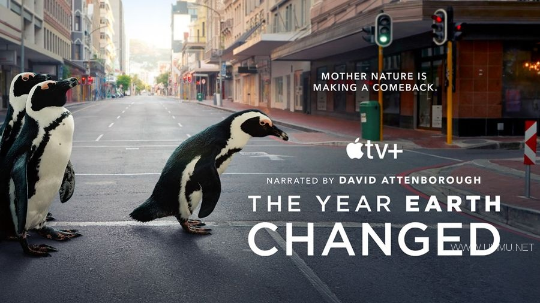 AppleTV纪录片《地球改变之年 The Year Earth Changed 2021》英语中字 1080P/MKV/3.56G 人类和野生动物和谐共处插图